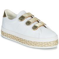 Sko Dame Lave sneakers No Name MALIBU STRAPS Hvid / Guld