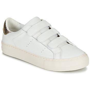 Sko Dame Lave sneakers No Name ARCADE STRAPS Hvid / Beige
