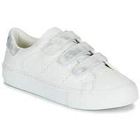 Sko Dame Lave sneakers No Name ARCADE STRAPS Hvid / Sølv
