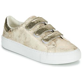 Sko Dame Lave sneakers No Name ARCADE STRAPS Guld