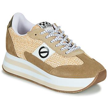 Sko Dame Lave sneakers No Name FLEX M JOGGER Brun / Beige