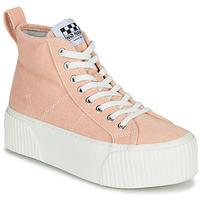 Sko Dame Høje sneakers No Name IRON MID Pink