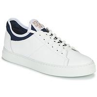 Sko Herre Lave sneakers Schmoove SPARK NEO Hvid / Blå