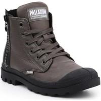 Sko Dame Høje sneakers Palladium Pampa UBN ZIPS 96857-213-M brown