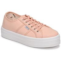 Sko Dame Lave sneakers Victoria BARCELONA LONA Pink