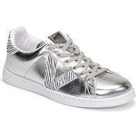 Sko Dame Lave sneakers Victoria TENIS METALIZADO Sølv