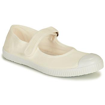 Sko Dame Lave sneakers Victoria PUNTERA MERCEDES Hvid
