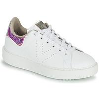 Sko Dame Lave sneakers Victoria UTOPIA HOLOG Hvid