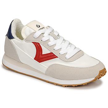 Sko Dame Lave sneakers Victoria ASTRO NYLON Hvid / Rød / Blå