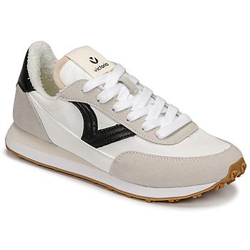Sko Dame Lave sneakers Victoria ASTRO NYLON Hvid / Sort