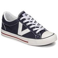 Sko Lave sneakers Victoria TRIBU LONA CONTRASTE Blå