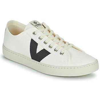 Sko Dame Lave sneakers Victoria BERLIN LONA GRUESA Hvid / Blå