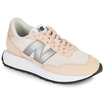 Sko Dame Lave sneakers New Balance 237 Pink / Sølv