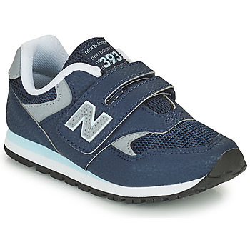 Sko Dreng Lave sneakers New Balance 393 Blå