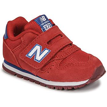 Sko Dreng Lave sneakers New Balance 373 Rød