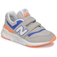 Sko Dreng Lave sneakers New Balance 997 Grå / Blå