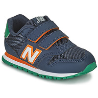 Sko Dreng Lave sneakers New Balance 500 Blå / Orange