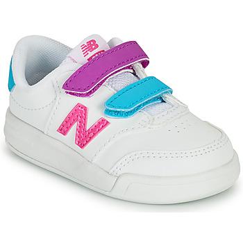 Sko Pige Lave sneakers New Balance COURT Hvid / Pink