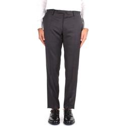 textil Herre Chinos / Gulerodsbukser Incotex 1T0030 1393T Grey