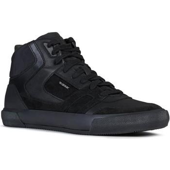 Sko Herre Høje sneakers Geox U Kaven Black Sort
