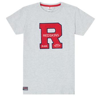 textil Dreng T-shirts m. korte ærmer Redskins TSMC180161-BLENDED-GREY Grå