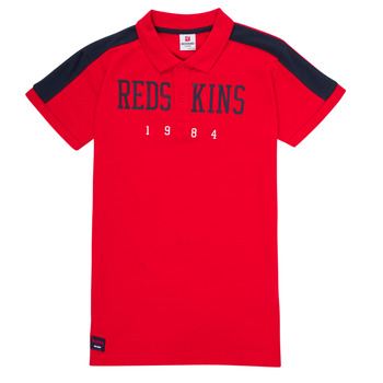 textil Dreng Polo-t-shirts m. korte ærmer Redskins PO180117-RED Rød