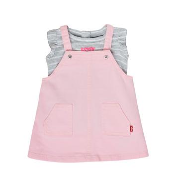 textil Pige Sæt Levi's 1ED091-A4U Pink