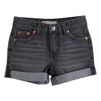 textil Pige Shorts Levi's 3E4536-D0K Grå