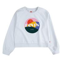 textil Pige Sweatshirts Levi's 3ED410-001 Hvid