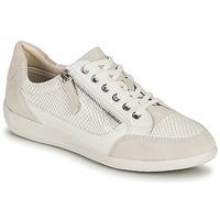 Sko Dame Lave sneakers Geox D MYRIA A Hvid