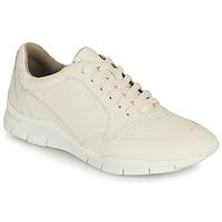 Sko Dame Lave sneakers Geox D SUKIE A Hvid