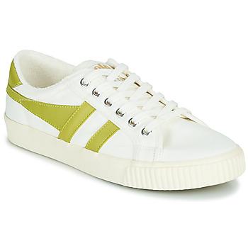 Sko Dame Lave sneakers Gola TENNIS MARK COX Hvid / Gul