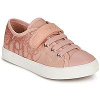 Sko Pige Lave sneakers Geox JR CIAK GIRL Pink