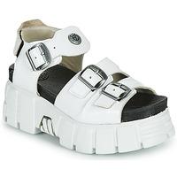 Sko Dame Sandaler New Rock M-BIOS101-C3 Hvid