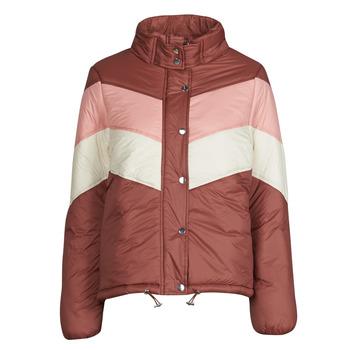 textil Dame Dynejakker Deeluxe CLAUDINE Rød / Pink