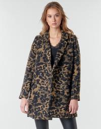 textil Dame Jakker Deeluxe LEA Brun / Sort