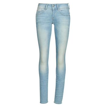 textil Dame Jeans - skinny G-Star Raw Lynn Mid Skinny Wmn Lys / Ældet