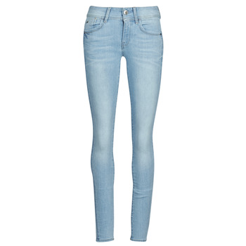 textil Dame Jeans - skinny G-Star Raw Lynn Mid Skinny Wmn NEW Lys / Ældet