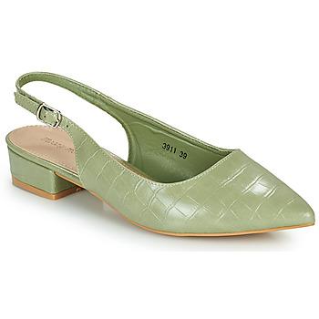 Sko Dame Højhælede sko Moony Mood OGORGEOUS Grøn / Mandel