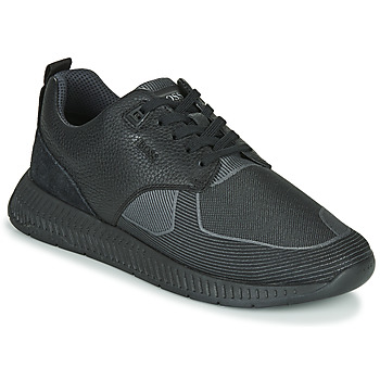 Sko Herre Lave sneakers BOSS Titanium_Runn_tbjq 10232903 Sort