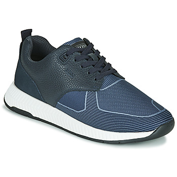 Sko Herre Lave sneakers BOSS Titanium_Runn_tbjq 10232903 Blå