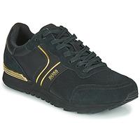 Sko Herre Lave sneakers BOSS ARDICAL RUNN NYMX2 Sort / Guld