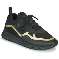 Sko Herre Lave sneakers BOSS TITANIUM RUNN KNTH Sort / Guld