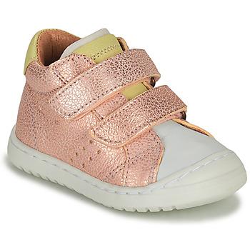 Sko Pige Lave sneakers Bisgaard TATE Pink / Guld