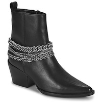 Sko Dame Chikke støvler Bronx JUKESON Sort