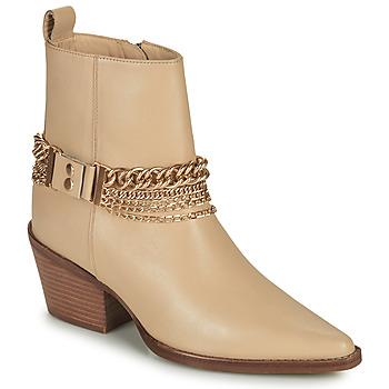 Sko Dame Chikke støvler Bronx JUKESON Beige