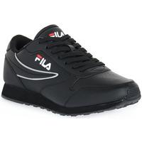 Sko Dame Lave sneakers Fila 12V ORBIT LOW Nero