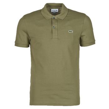 textil Herre Polo-t-shirts m. korte ærmer Lacoste POLO SLIM FIT PH4012 Kaki