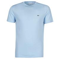 textil Herre T-shirts m. korte ærmer Lacoste ALFED Blå