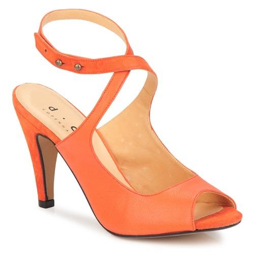 Sko Dame Sandaler D.Co Copenhagen MARISSA Orange